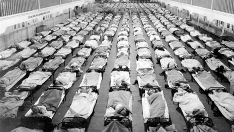 Spanish flu pandemic of 1918